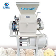 small scale maize grinding machine mini roller flour mill wheat grinder