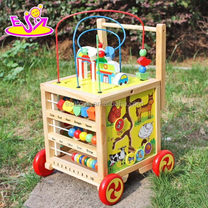 2017 ที่ดีที่สุดขายของเล่นเพื่อการศึกษาของเล่นไม้เกมเขาวงกตสำหรับเด็ก W11B128-S
