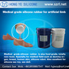 liquid silicone rubber for artificial human body