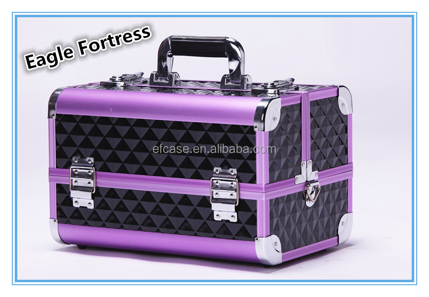 Easy take professional colorful customized ABS beauty case