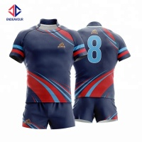 Custom sublimation rugby training shirt for rugby team
