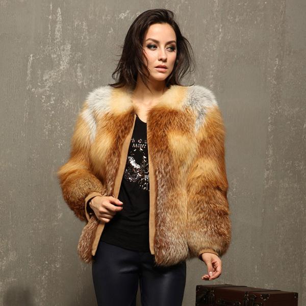 Fox Fur Coats For Womens Coat Nj
