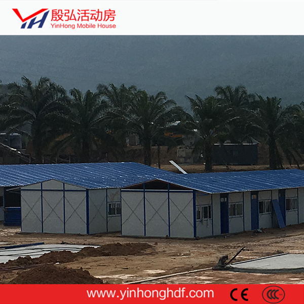 Prefabricated K house Sandwich Panel Steel Construction Site New