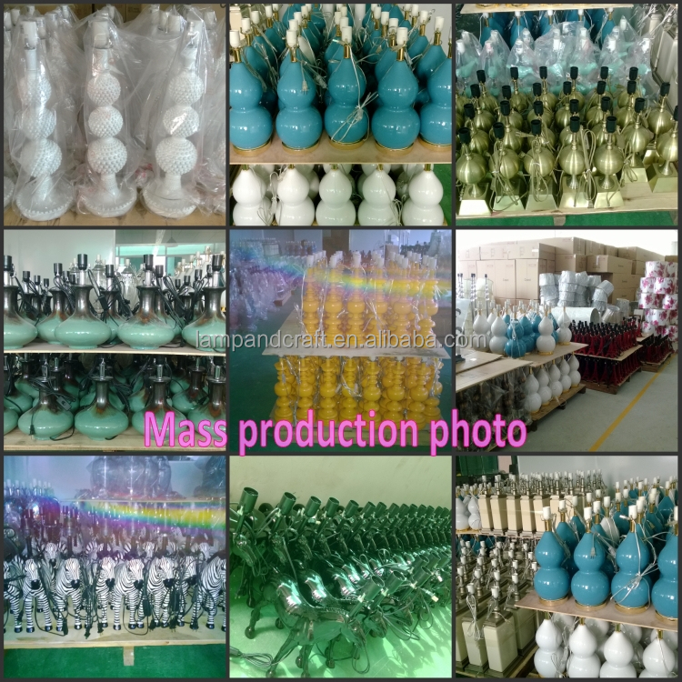 Wholesale Low Price Home Goods Table Lamps With Jade Green Ceramic ...