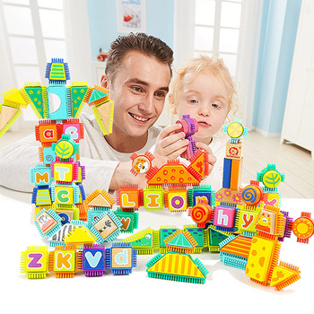 Topbright kids newest wooden educational construction building blocks toy for children 120347