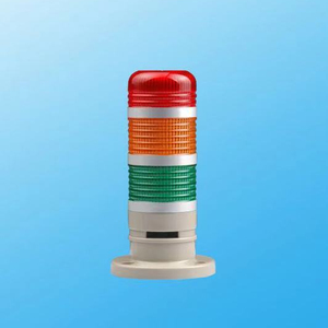 DC 12V-24V alarm steady flashing warning led signal tower lamp stack light with buzzer