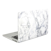 White/Black marble patten rubberized hard case for macbook pro 13, for macbook hard cover case
