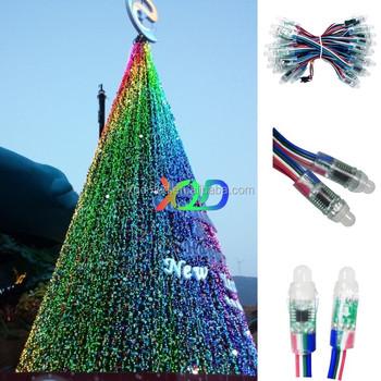 twinkling colorful programming led pixel lights dc5v 8mm waterproof pixel lights led ipd 6803 16716