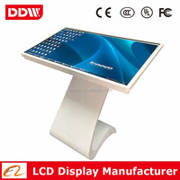 "Wholesale price 42"" 1080P LED backlit kiosk digital signage all in one advertising player touch screen player DDW-AD4201TKPC"