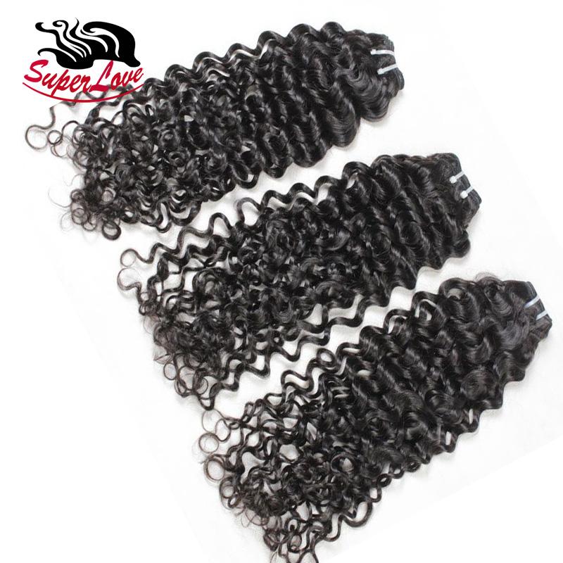 SuperLove Hair Bundles Russian Italian Wave Raw Virgin Cuticle Aligned Hair Russian Italian Curly human hair weave