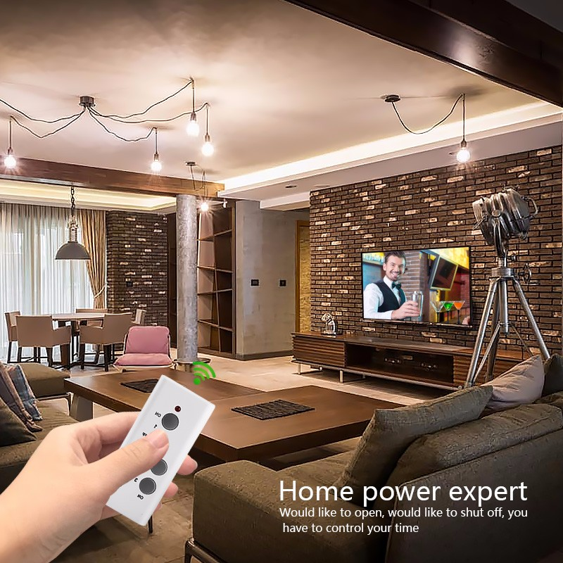 Power saving germany remote control universal wall electric multi socket