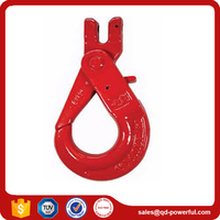 G80 Clevis Type Self Locking Safety Crane Hook for Chain Sling