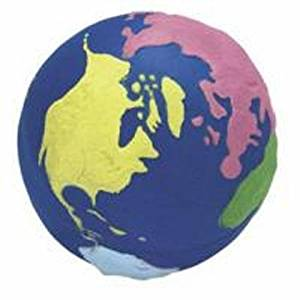 Earth Squeezie Ball - Multicolored Set Of 3
