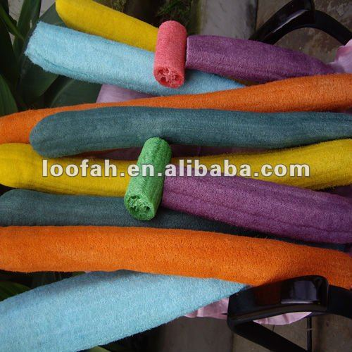colorful natural loofah/luffa/loofa sponge