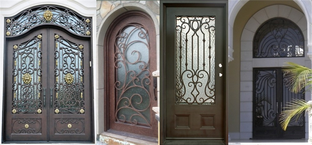 Hot Sale Top Quality Customize House Front Door For Modern