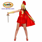 Roman soldier (13-065) as party costume for lady with ARTPRO brand