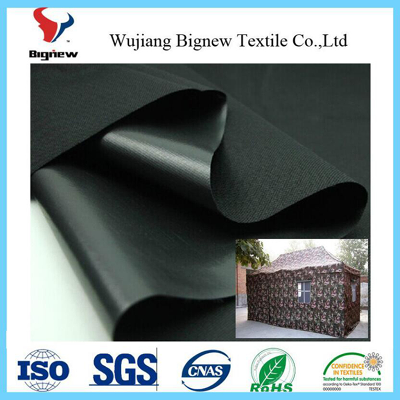 wholesale pu pvc coated/waterproof 210d 420d polyester tent oxford fabric roll