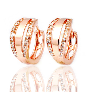 Factory Wholesale Latest Fashion Jewelry Bulk Colored Hoop Earrings