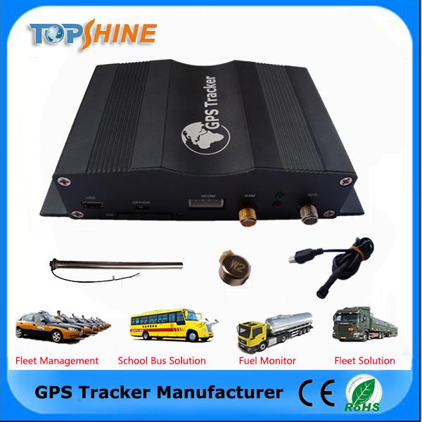 2 Kartu SIM Kendaraan GPS Tracker Dapat Pelacakan Negara Yang Berbeda Mendeteksi Driver Perilaku dengan Sistem Pelacakan GPS