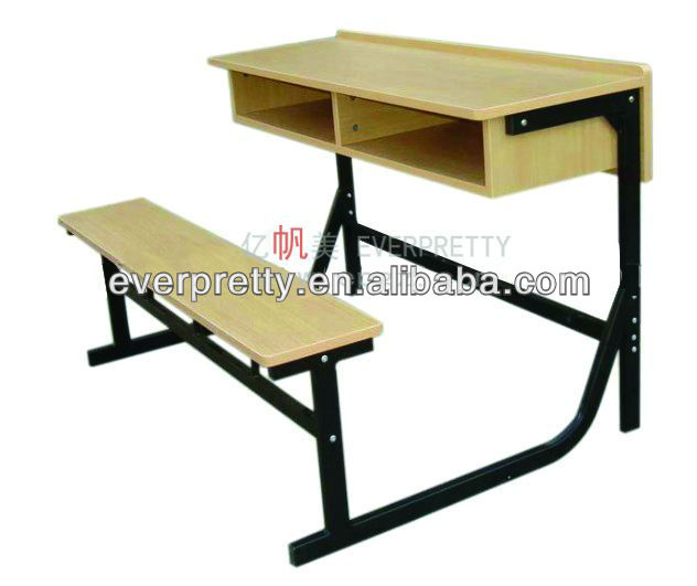 Double student desk and chair for primary school,middle school
