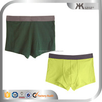 China Wholesale Elatic Waistband Man Body-fitted Underwear Shorts