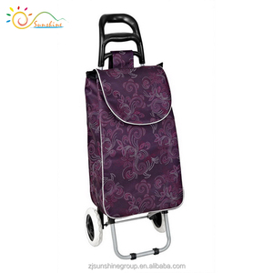 Folding seniors shopping trolley with seat shopping trolley smart cart small grocery carts