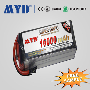 Wholesale 16000mAh Long lasting RC Helicopters Lipo Battery Nano Coat Technology with Strong safety performance
