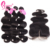 Affordable Bleaching Knots On Lace Closure Body Wave Black Brazilian Hair Bundles Styles