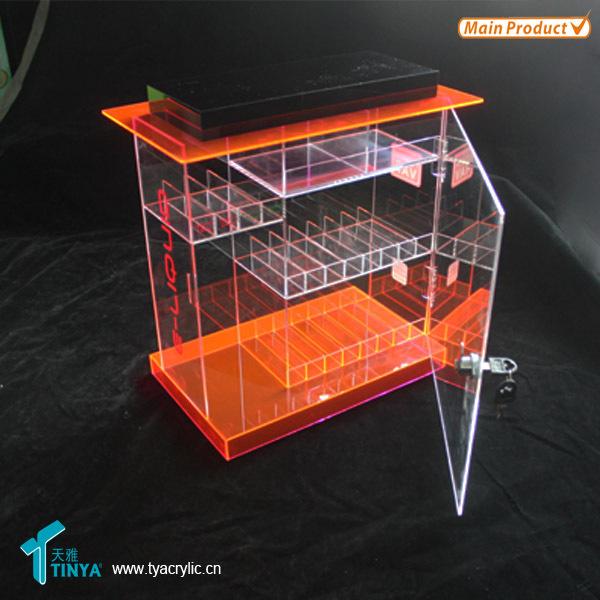 China Merchandise E-liquid 3 Shelf Cabinet Acrylic Counter E Juice ...