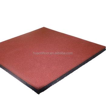 Outdoor Cheap Thick Floor Rubber Paversrubber Tile Floor Brick