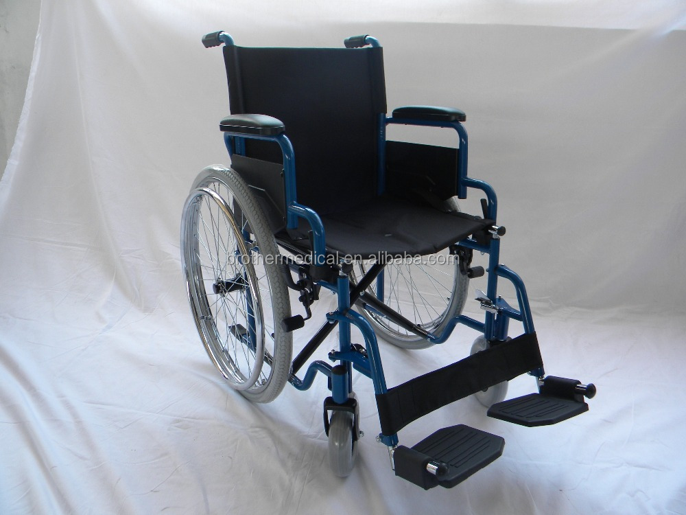 quickly delivered sample steel bariatric manual wheelchair