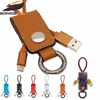 [Somostel] USB Charge Sync Cable + Bottle Opener + Keychain for iPhone,iPad,Samsung,HTC and more