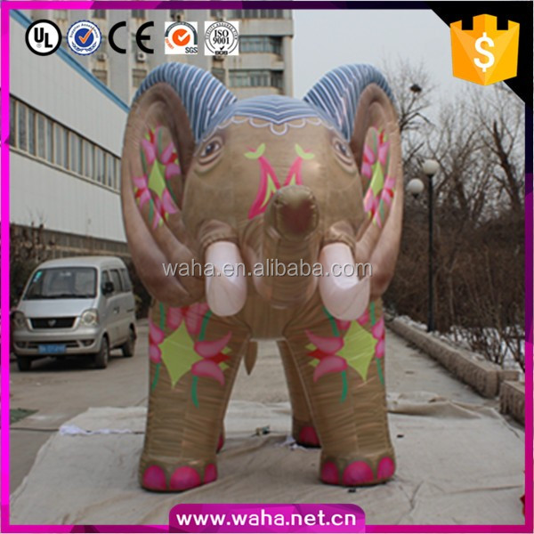 2017 new inflatable elephant balloon for wedding favor decoration