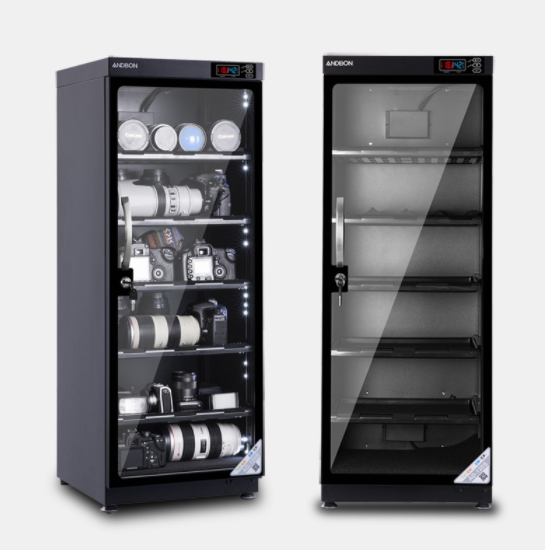120L Automatic Dehumidification LED Digital Display Dry cabinet for Lens Camera