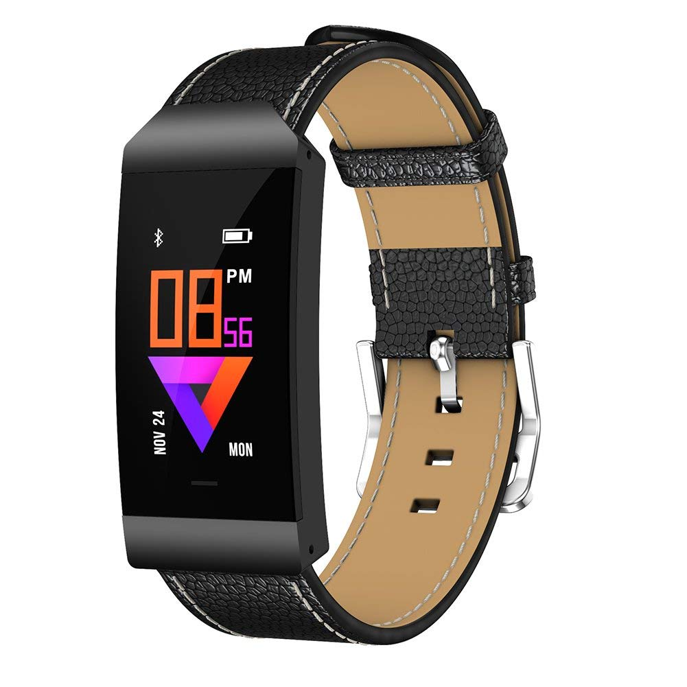 Uhruolo Fitness Tracker Bluetooth Smart Watch With Pedometer Blood Oxygen Heart Rate Blood Pressure Monitoring Activity Tracker Waterproof Fitness Watch