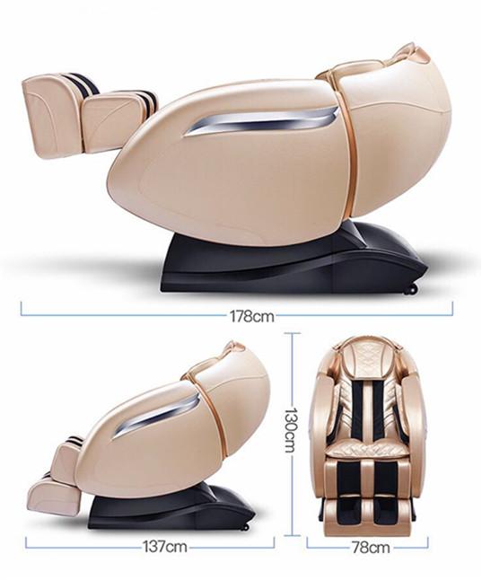 RL-810 Elettrico Poltrona da Barbiere con Massaggio Ufficio Sedia di Massaggio con la Vibrazione