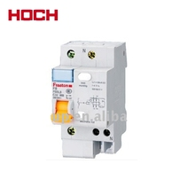 HOCH FBB series DZ47 C45 6A 10A 16A 20A 25A 32A 40A 50A 63A single phase pole 1p mini mcb RCCB minature electric circuit breaker