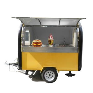 China mobile electric small pizza food cart trailer with kitchen