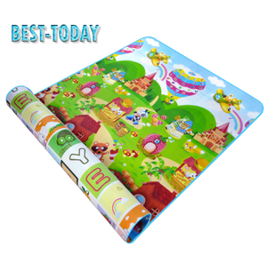 Best-Today Playground kids games educational safety child road play mat