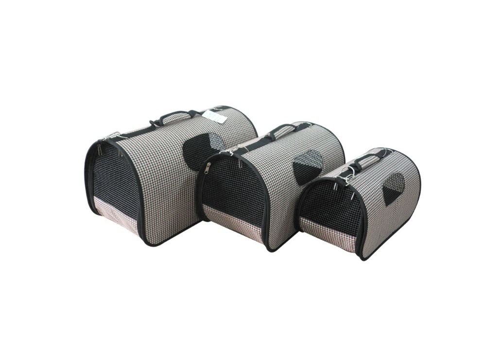portable travel soft sided pet carrier for dog and cat