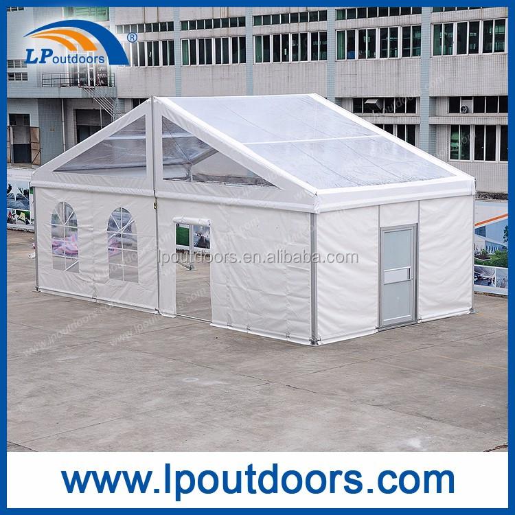 Klar Dach 10x20 Mt Hochzeitszelt Mit 5x5 Mt Pagodenzelt Eingang ...