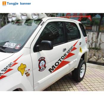 Custom design printing removable car window film3m vinyl car sticker