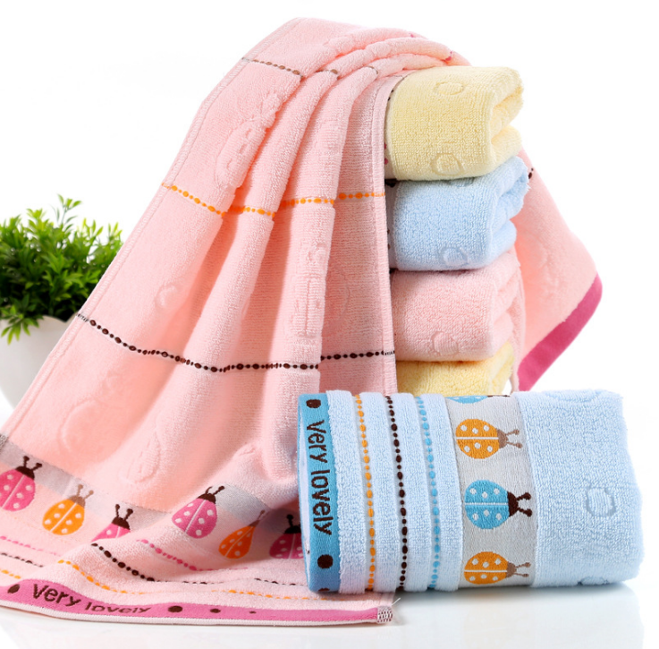 Factory price wholesale cotton jacquard bath towel set