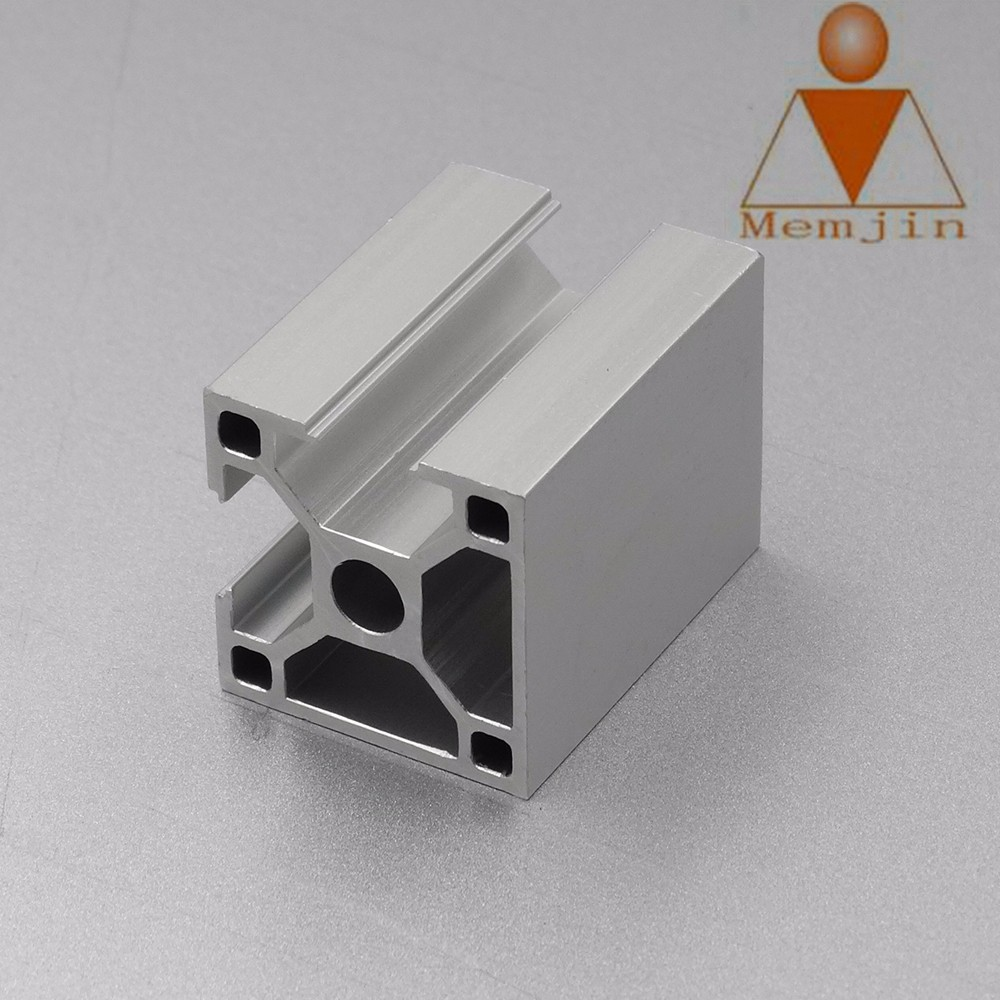 6063 T5 aluminum extrusion profile with nature anodizing surface and provide deep machine