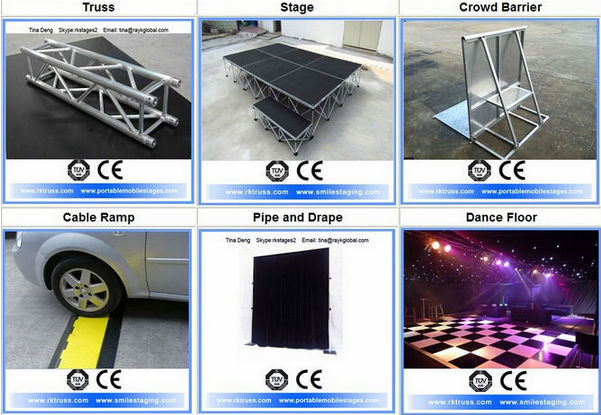 China Biggest Event Equipment Manufacturer Sell Portable Stage ...