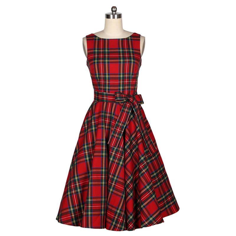 4c7bdf213f05 Cheap summer dress, Buy Quality swing dress directly from China women  summer dress Suppliers: New Women Summer Dress Sleeveless Cotton Short Plaid  Striped ...
