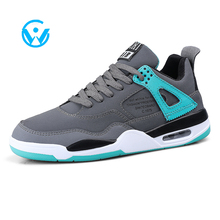핫 품 인기있는 PU Mesh Rubber Outsole Casual Men sports Shoes