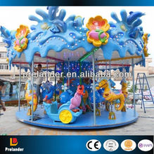 Fairground amusement rides Newest merry go round carousel for sale/16 rides carousel horse