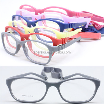 0ccbce49cd De alta calidad del medio ambiente TR90 gafas de marco único flexible  hingless del templo,