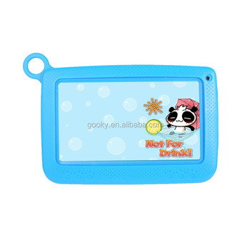 Cheap price Silicone Case Cover For 7 Inch Kids Tablet PC 1024*600 pixels 8 gb ram RK3126/A33